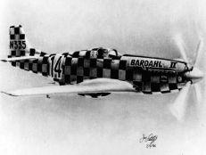 North American P 51D Mustang Bardahl II